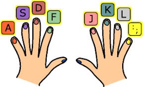 keyboarding hands